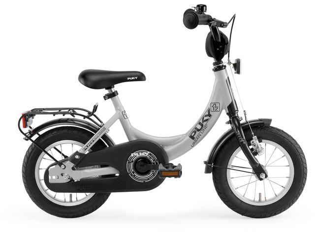 """Vélo Puky ZL 12-1 Alu - Pour enfants - 12"""" - Gris clair/Noir"""